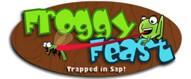 Froggy Feast - Trapped in Sap!