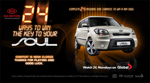 Kia Contest Page - Now Closed